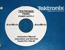 TEK PS505 Power Sup. Instruction Manual (Ops&Service)