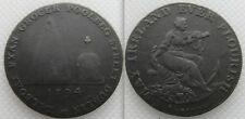 COLLECTABLE DUBLIN HALF PENNY TOKEN - POOLBEG STREET - IRELAND -  DATES 1794