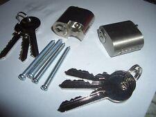 Scandinavian oval lock cylinder barrel suits assa/ruko 6 keys in total 6 pin