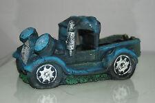 Aquarium Old Vintage Truck Decoration With Bubble Exhaust 20 x 10.5 x 10 cms
