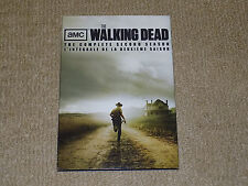 AMC THE WALKING DEAD THE COMPLETE SECOND SEASON WITH SLIPCOVER, 4 DISC DVD