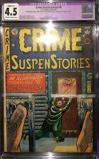 Crime SuspenStories #8 CGC 4.5 EC Comics OW/White Pages 1952
