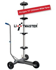Liftmaster Home Garage Tyre Wheel Storage Rack Trolley