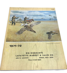 Vintage 1971-72 Guns and Accessories Catalog RUGER, WINCHESTER, REMINGTON, COLT