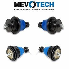 Set of 4 Front Upper & Lower Ball Joints Mevotech for Nissan Frontier Suzuki
