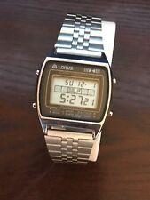 Vintage Lorus Men's Alarm Chronograph Digital Watch Y770-5250  Japan By Seiko
