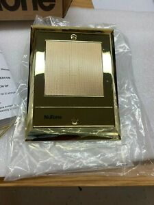 Nutone IS-70PB Intercom Door Speaker IS-70 IS-65 Polished Brass (no push-button)