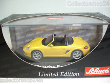 Schuco : Porsche Boxter Cabrio Speed Yellow No : 04701