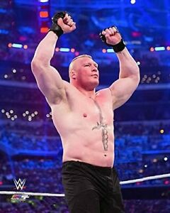 "WWE Brock Lesnar Action Photo (Size: 8"" x 10"")"