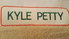 NASCAR KYLE PETTY Name Tag Patch 10 1/2 x 3 inches