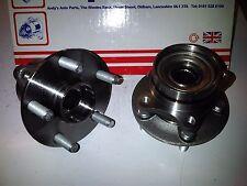 Toyota prius NHW20 1.5 2003-09 2x brand new front wheel bearings & moyeux