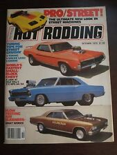 Popular Hot Rodding Magazine October 1979 Dale Hall 210 MPH Y8 AA DA  B1 AT