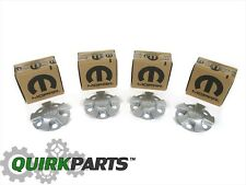 "14-18 JEEP CHEROKEE WITH 17"" WHEEL CENTER CAPS SET OF 4 OEM NEW MOPAR GENUINE"