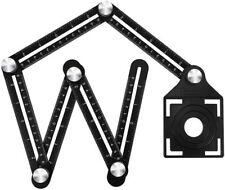 Universal Foldable Angularizer Ruler Alloy Multi-Angle Measuring Template Tool