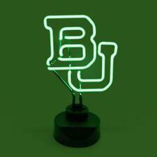 BAYLOR BEARS NEON SIGN LIGHT TABLE TOP LAMP UNIVERSITY OFFICE DESK MANCAVE