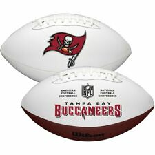 Nfl Tampa Bay Buccaneers White Autograph Football : New with Fast Shipping