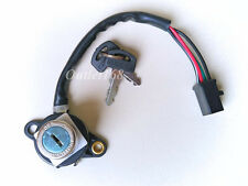 Honda Cub 70 C70 Passport 1980-81 Main Ignition Switch Assembly Comb Key 4 wires