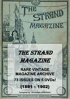 STRAND MAGAZINE - 73 ISSUES (1891-1902) - AGATHA CHRISTIE KIPLING DOYLE STORIES