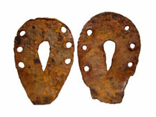 Nice Lot of 2pcs. Roman Period Mule or Donkey Iron Shoes, Top Condition+