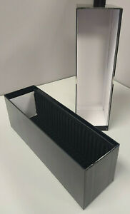 Guardhouse Graded Card Slotted Black Storage Box Container Holds 25 PSA Slabs