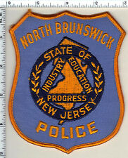 North Brunswick Police (New Jersey) Shoulder Patch from 1993