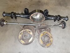 "Torana LH-LX 9 inch 9"" diff housing and axles drum brake"