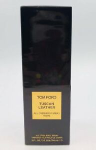 TOM FORD TUSCAN LEATHER PERFUME SCENTED ALL OVER BODY SPRAY 5 OZ 150ML NIB