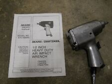 1/2  AIR IMPACT WRENCH CRAFTSMAN 875.188840 SEARS