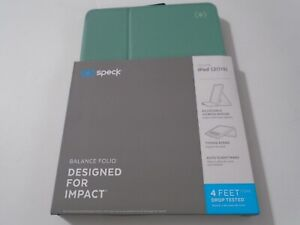 Speck Protective Tablet Folio for iPad 2019  10.2 - Green ax