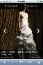 Alfred Angelo wedding dress replica