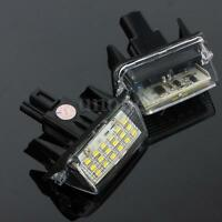 2pcs 18 LED License Number Plate Light For Toyota Camry Yaris Corolla