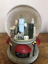 New York Musical Snow Globe Mint Condition