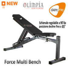 GetFit - FORCE MULTI BENCH Pro - PANCA PESI Professional LIGHT COMMERCIAL CLUB
