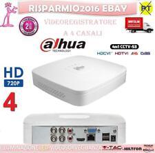 NVR 4 CH DAHUA CANALI CLOUD IBRIDO FULL HD 6MP 3G WIFI ONVIF VIDEOSORVEGLIANZA