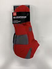 Under Armour Men's HeatGear No Training Show Socks (3 Pair), Large (Size 9-12.5)
