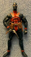 LOOSE 2008 HASBRO MARVEL LEGENDS RED HULK SERIES  UNION JACK