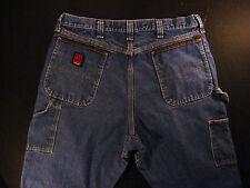 WRANGLER Riggs Workwear Carpenter Men's Jeans 35 x 25 MEASURED