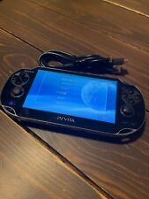 Sony PS Vita Black PCH-1000/1100 Console with USB Charger Playstation
