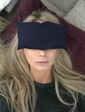 Sleep Aid - Headache Relief - Yoga Pillow - Navy Blue
