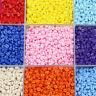 1000X Runde Taste 2 Löcher Mischfarbe Bekleidung Nähen Zufällige Handwerk 5,5mm