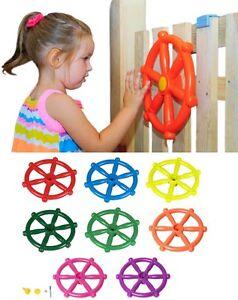 Pirate Steering Wheel Childrens Marine Ship Wheel For Playhouse Climbing Frame