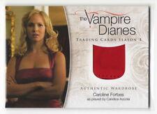 2014 Vampire Diaries Season 3 Caroline Forbes Candice Accola Wardrobe Card M-21
