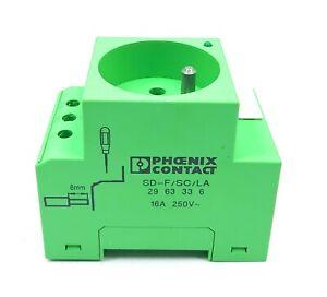Phoenix Contact Socket SD-F/SC/LA 2963336 16A 250V