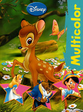 Multicolor Malbuch - Bambi - Pinocchio von Disney Enterprises #518631