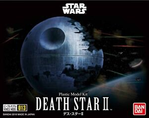 Bandai 230357 Star Wars Plastic Vehicle Model 013 Kit 1/2700000 Death Star II
