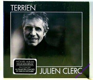 nouvel Album Cd Julien CLERC : Terrien neuf 2/2021 Mon refuge edition digipack
