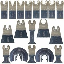 18 x Multi tool Blades for Worx Sonicrafter WX680 W668 W679 W681 20V Multiool SP