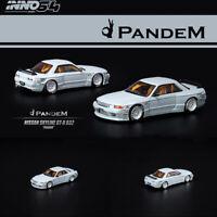 INNO 1:64 Scale Nissan SKYLINE GT-R R32 PANDEM Rocket Bunny Car Model