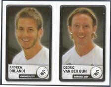 PANINI NPOWER CHAMPIONSHIP 2011- #364-A-B-SWANSEA-A ORLANDI / CEDRIC VAN DER GUN