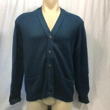 Vintage George Good Lambswool Cardigan Sweater Mens Size L 42